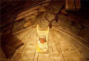 Cul-de-lampe, combles de l'église de Saint-Martin-sur-Oreuse