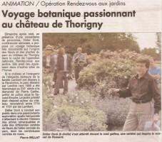 Compte rendu dand l'Yonne Républicaine