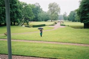 Les rendez vous aux jardins 2009 démarrent sous la pluie...