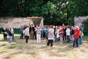 Dans le potager du château de Fleurigny