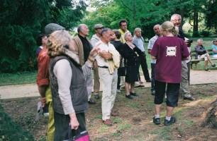 Puis nous visiterons l'arboretum des Barres