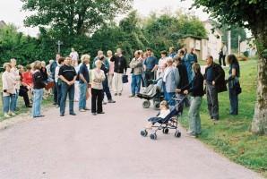 Une forte participation lors de la promenade