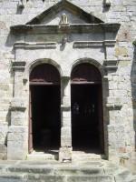 Eglise de Saint Martin: portail d'entré