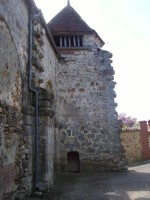 Eglise de Saint Martin: escalier