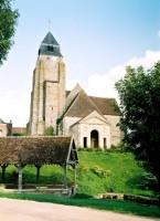 l'église de Thorigny et le lavoir