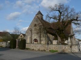 L'église de la Postolle