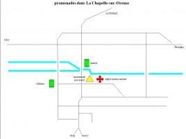 Carte de La Chapelle